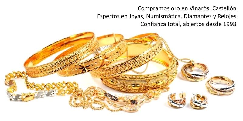 Compra venta de Oro en Castellón