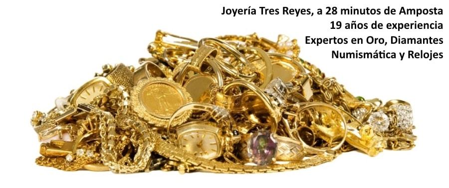 Vender Oro en Amposta