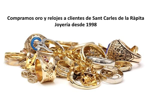 Compramos oro, plata y joyas en Sant Carles de la Ràpita
