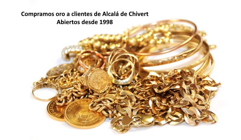 Compramos oro en Alcalá de Chivert