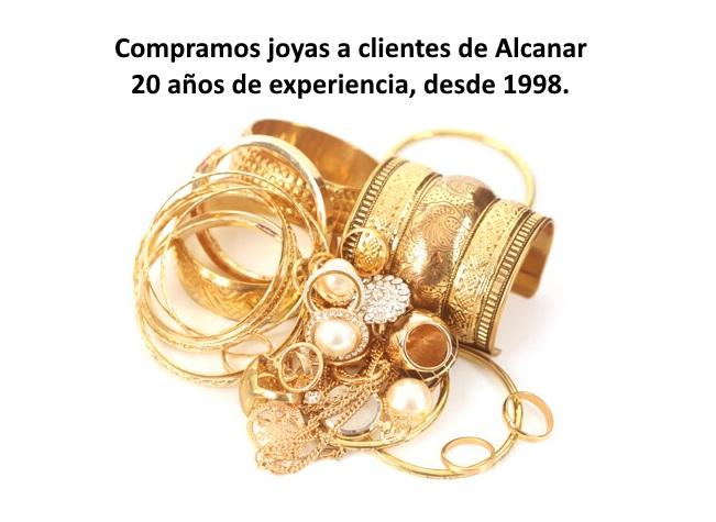 Compro oro en Alcanar