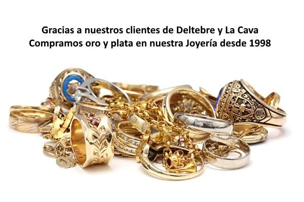 Compramos oro en Deltebre y La Cava