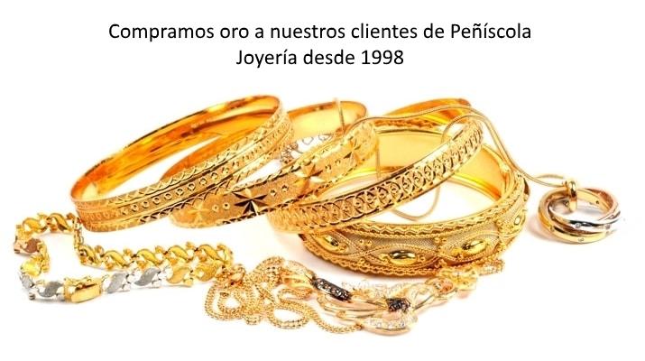 Compramos oro en Peñíscola