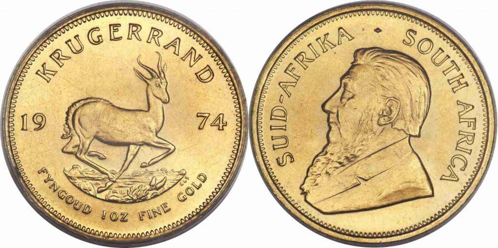 Compramos monedas de oro Krugerrand